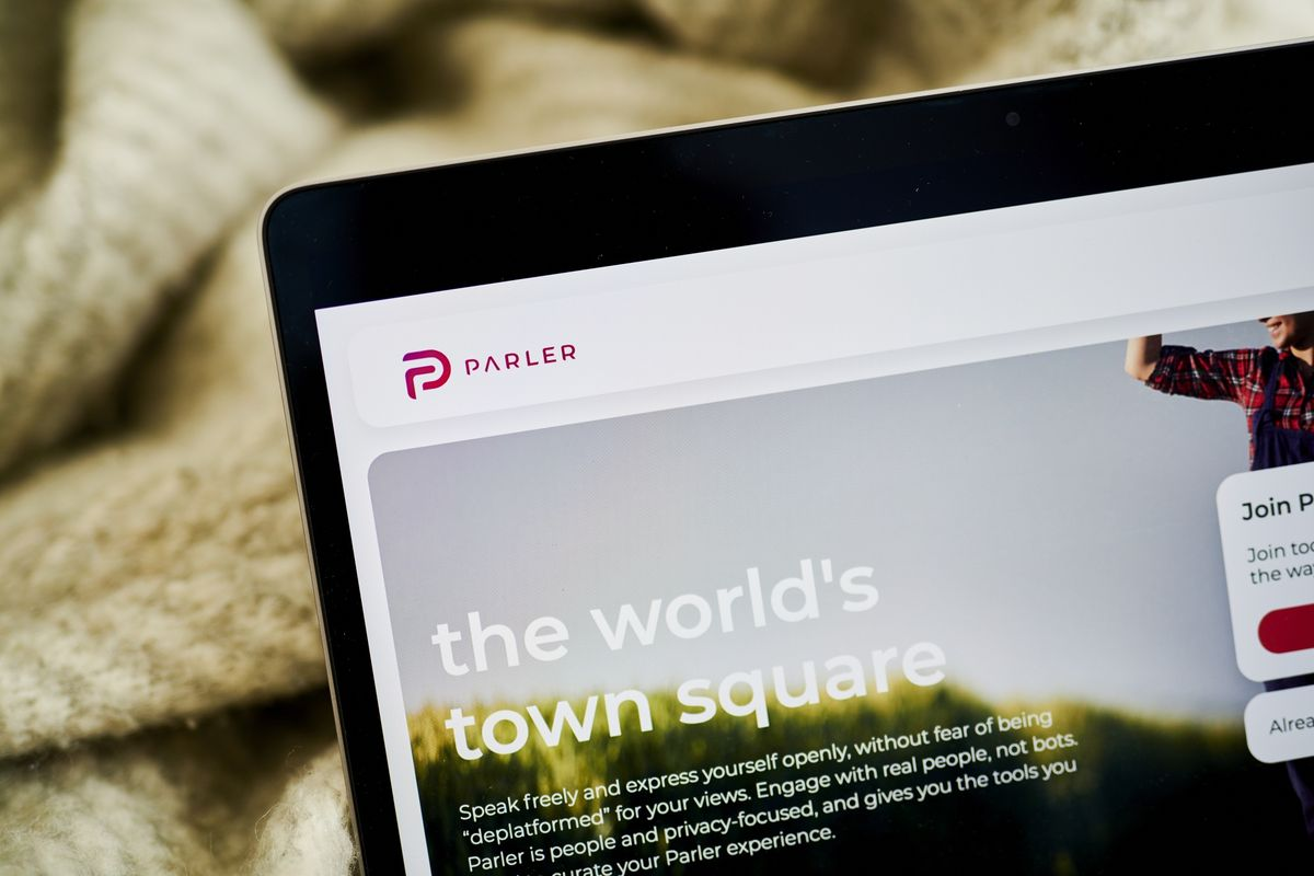 Mercer-Backed Parler Casts Its Reboot as Fight for Free Speech