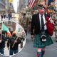 Pandemic St Patrick's Day: Bill de Blasio leads early-morning parade through deserted NYC streets