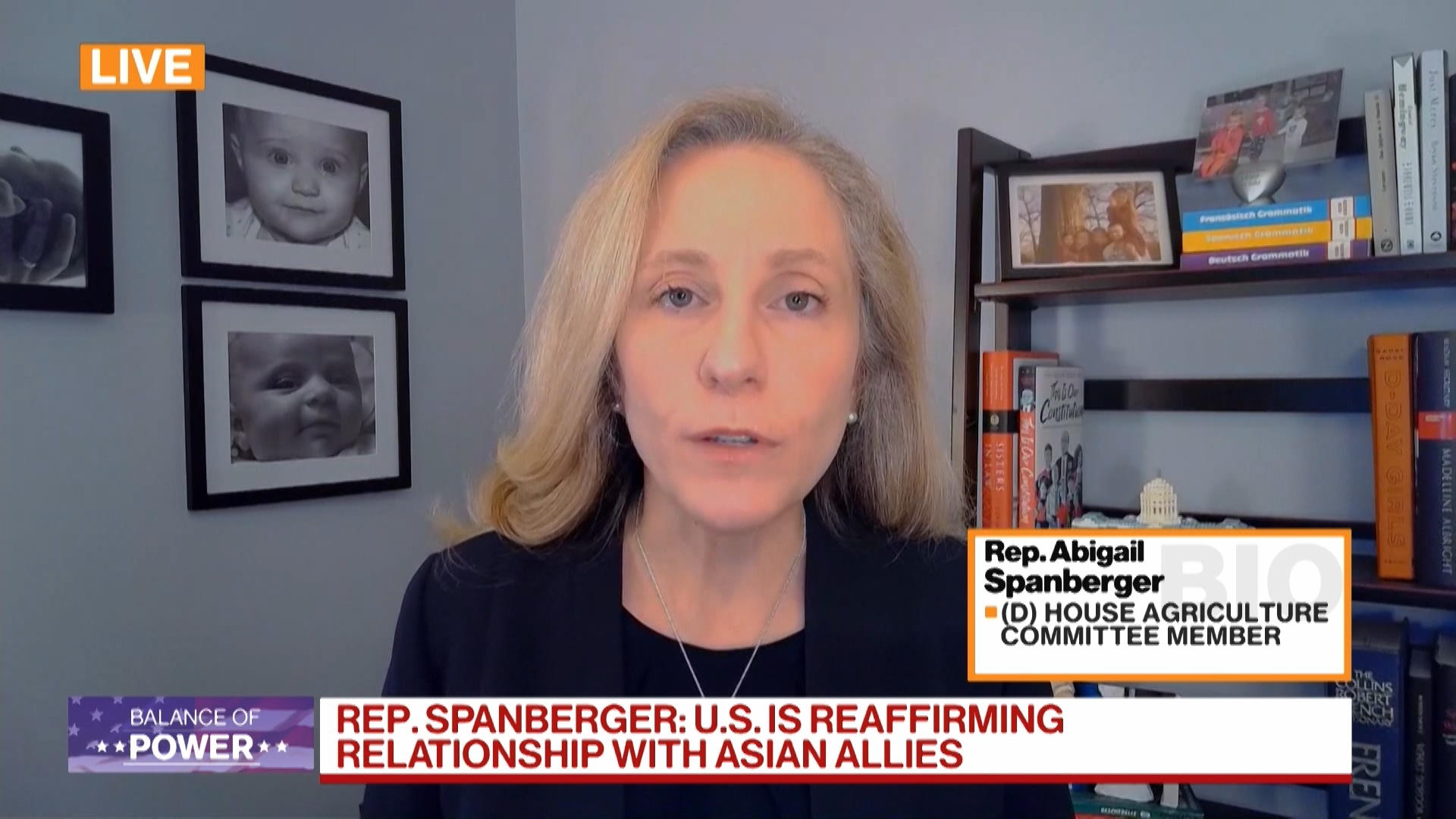 Rep. Spanberger Says Asia Tour is Central to Biden Foreign Policy Strategy