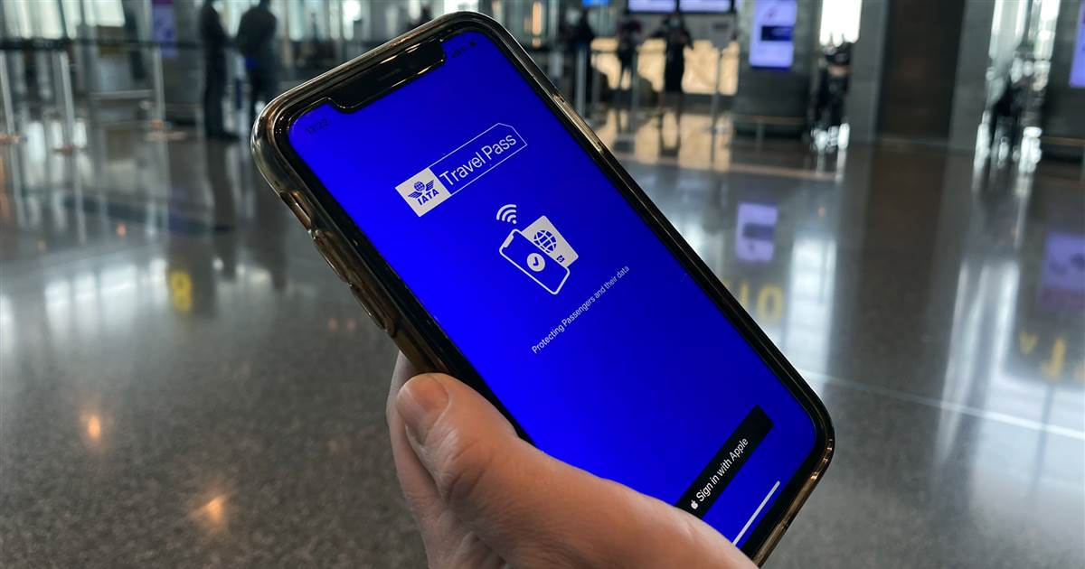 Airlines test new digital passports as proof of vaccination