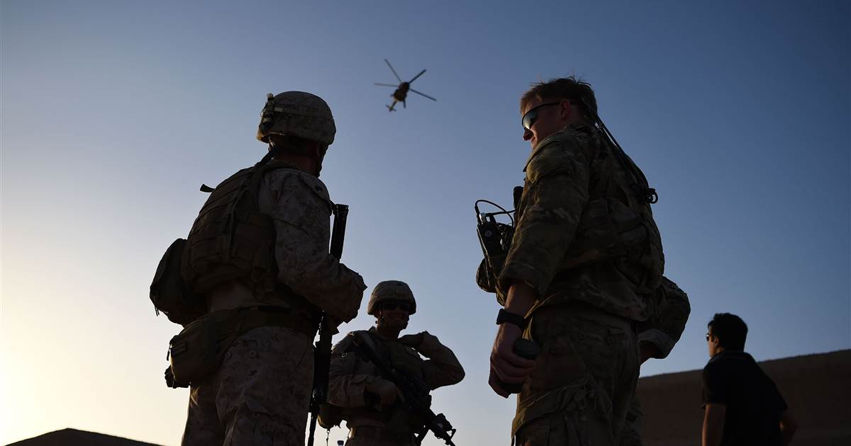 Biden considers delaying U.S. troop exit from Afghanistan to later this year