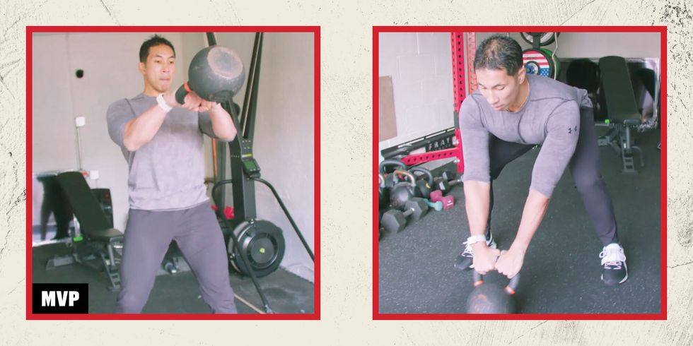 MVP Level Up: 5 Kettlebell Swing Progressions to Build Strength and Power