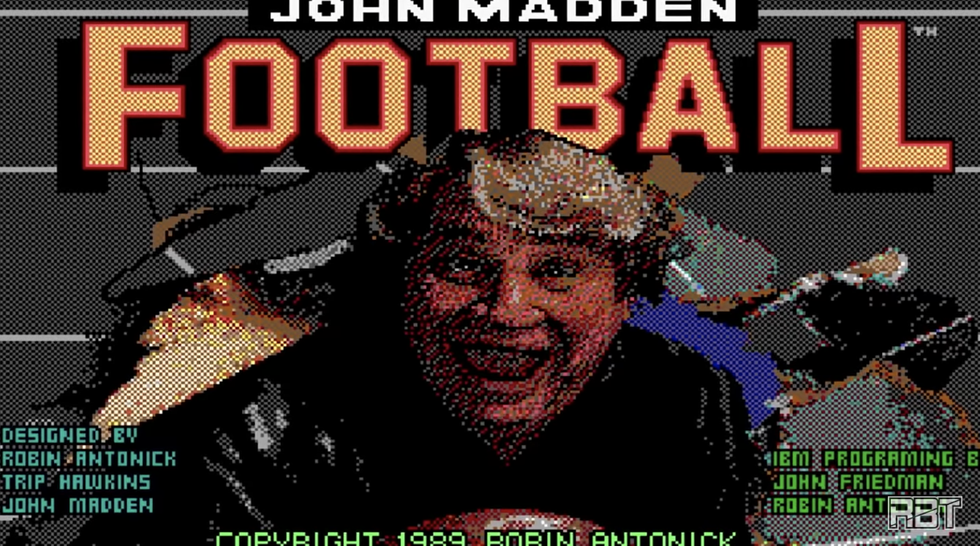 A Gamer Made a Video Playing Every Version of Madden from 1988 to Today