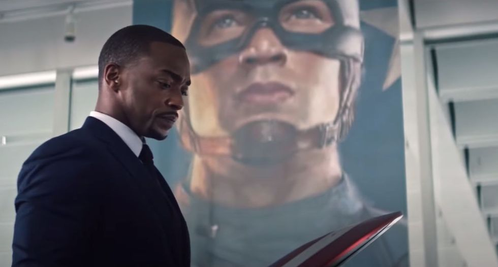 Every Easter Egg From Episode 1 of The Falcon and the Winter Soldier
