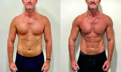 Luke Evans Just Showed Off His Shredded Abs in New Transformation Photos