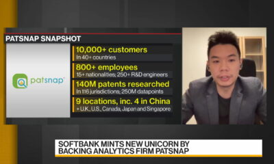 SoftBank-Backed Analytics Firm PatSnap Kept Growing Amid Pandemic: CEO