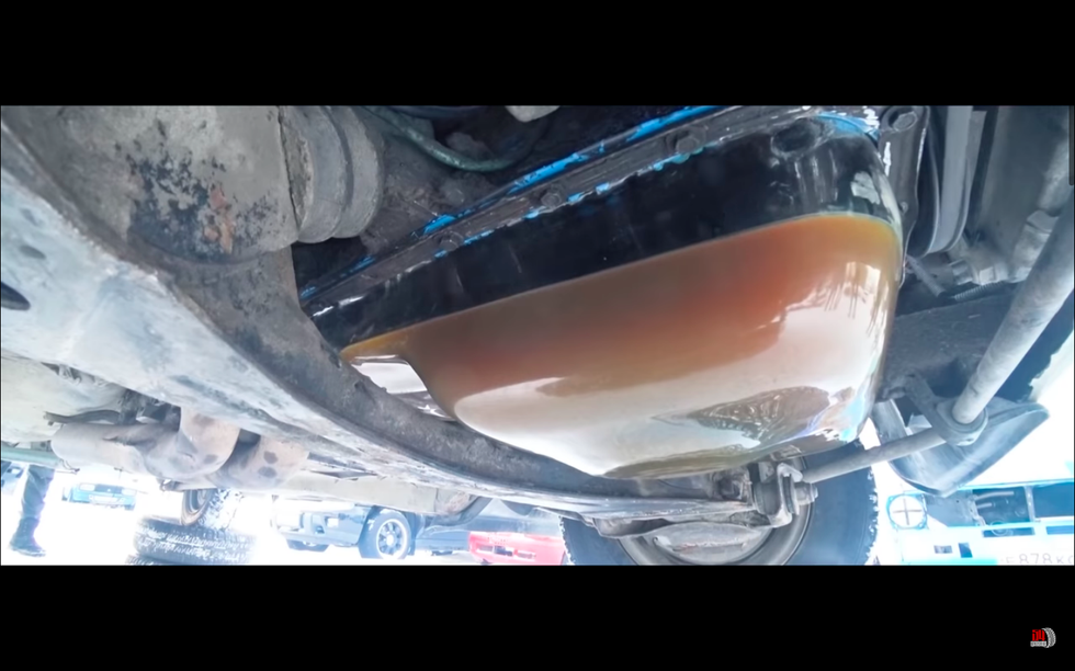 Here's What Frozen Oil Looks Like in Your Engine