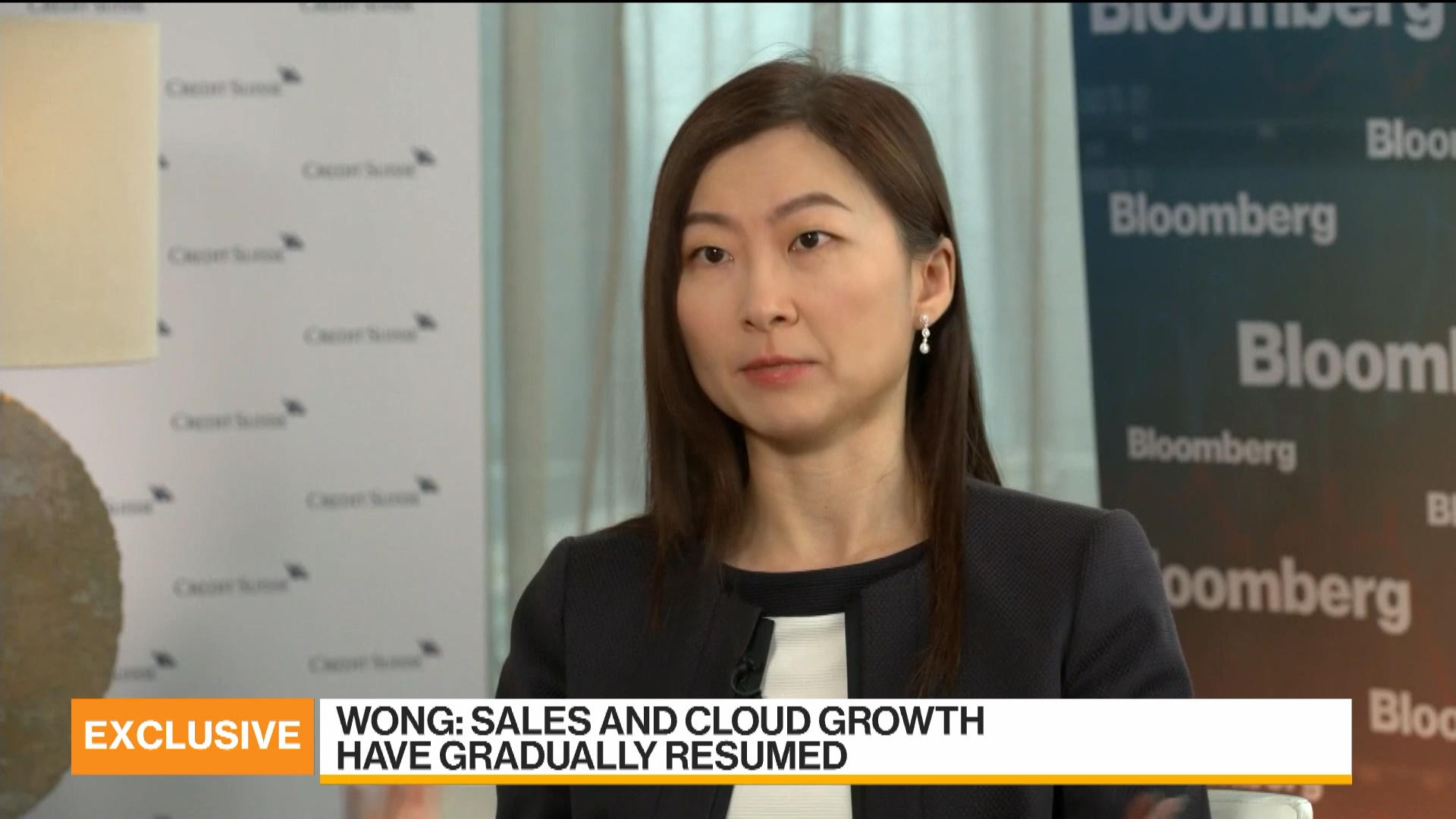 Credit Suisse's Wong on China's Cloud Computing, 5G, Chips