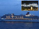 Two Carnival cruise ships berth for the first time in over a year at the Port of Galveston
