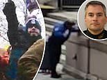 New video from Capitol siege shows moment cop Brian Sicknick is attacked with chemical spray