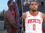 Shocking new police footage shows bloodied Rockets guard Sterling Brown after strip club attack