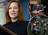 Jen Psaki doubles down in attacks on Georgia election law making it harder to vote absentee