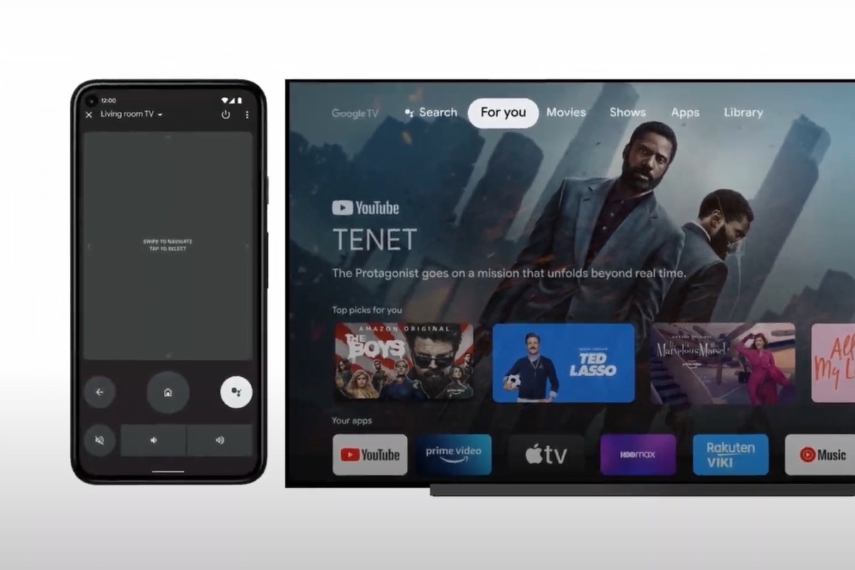 Android TV controls are finally coming to Android phones