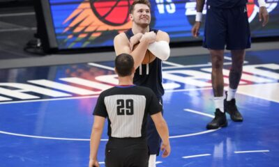 Report: Mavs' Luka Doncic Set to Play in Game 4 vs. Clippers Despite Neck Injury