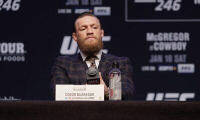 """Conor McGregor on topping Forbes list: """"I'm in debt to the tough times"""""""