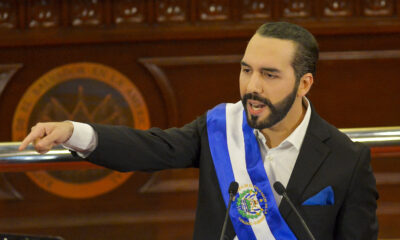 El Salvador looks to become the world's first country to adopt bitcoin as legal tender