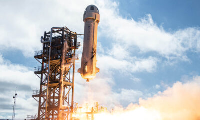 Blue Origin auctions seat on first spaceflight with Jeff Bezos for $28 million