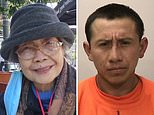 Elderly Asian woman, 94, is stabbed multiple times and man, 35, is arrested in San Francisco