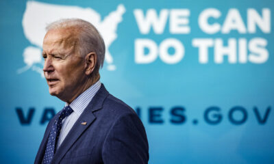 Biden is on track to fall short of vaccinating 70% of American adults by the Fourth of July