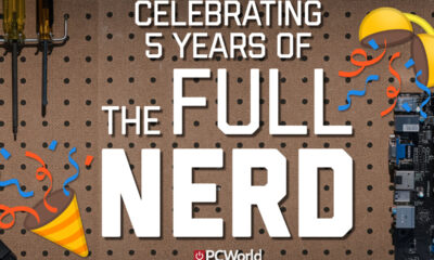 Celebrate 5 years of The Full Nerd with merch!