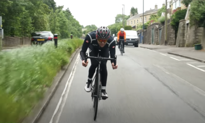 Watch this Cyclist Create and Ride The Hardest 100km Bike Ride Possible