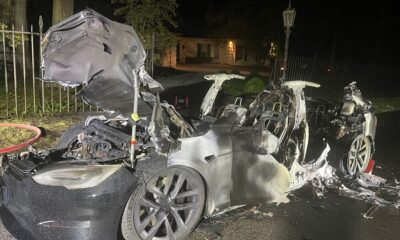 Tesla Model S Plaid caught fire while driver was at the wheel, says fire chief