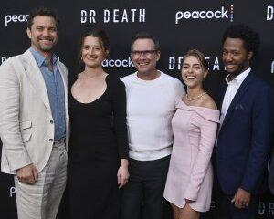 In Photos: Joshua Jackson, Christian Slater attend 'Dr. Death' series premiere
