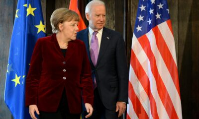 Biden and Merkel to discuss Afghanistan, cybersecurity and Nord Stream pipeline this week