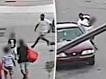 Man, 24, arrested over brazen daylight kidnapping attempt of boy, 5, who was saved by hero mom