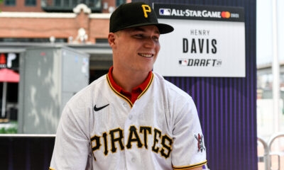 Henry Davis Signs Reported $6.5M Pirates Contract After Going No. 1 in 2021 MLB Draft