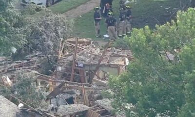Six injured after house explosion in Texas