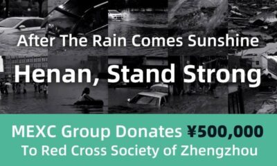 MEXC Continues CSR Dedication and Contributes 500,000 RMB, Boosting Zhengzhou Flood Relief's Efforts