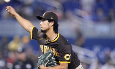 Another rough outing for Darvish as Padres lose at Miami 9-3