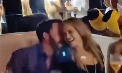 Jennifer Lopez and Ben Affleck Party Like It's 2002 at Her 52nd Birthday Party