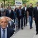 'Traitor': Protesters heckle Trump's 2016 inaugural chair Tom Barrack as he walks into court