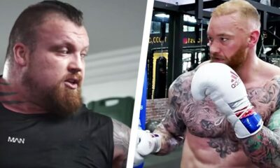 Eddie Hall and Hafthor Björnsson's Boxing Showdown Is on Hold