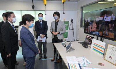 CE visits Education University of Hong Kong (with photos/video)