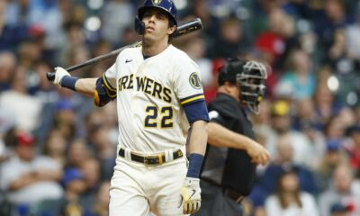 Brewers place star Christian Yelich on COVID list