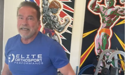 Watch Arnold Schwarzenegger Crush a Back Workout to Ring in His 74th Birthday
