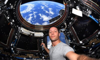 ISS astronaut describes his first 100 days in space