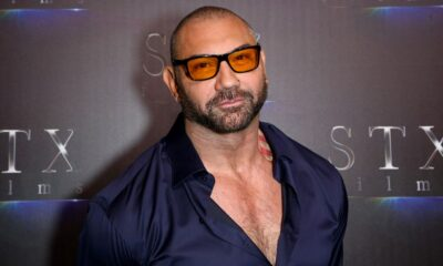 Dave Bautista Shows He's Still Ripped Like Drax in a New Shirtless Selfie