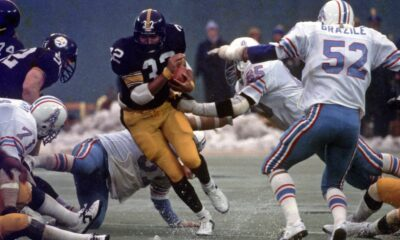 Franco Harris places Ben Roethlisberger in Hall of Fame