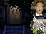Holed up Cuomo refuses to leave the Governor's mansion for SECOND day