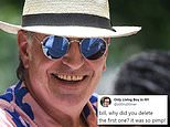 C Mayor sparks hilarity when he tweets then deletes photo of himself