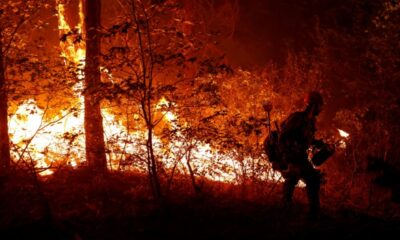 Eight missing as massive Dixie fire rages in northern California