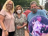 'I had other parties to go to': Nancy Pelosi at church after being disinvited from Obama's 60th