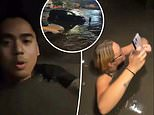 Terrifying video shows Omaha man and two women trapped in elevator as floodwaters rise