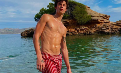 Shawn Mendes Just Showed Off His Six-Pack Abs in an Island Paradise Thirst Trap