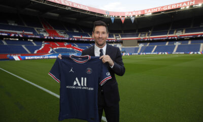 PSG president says world will be 'shocked' by revenues from Messi signing