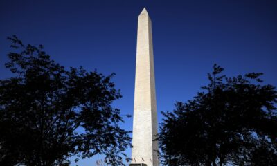 Video shows lightning striking Washington Monument; site remains closed to visitors